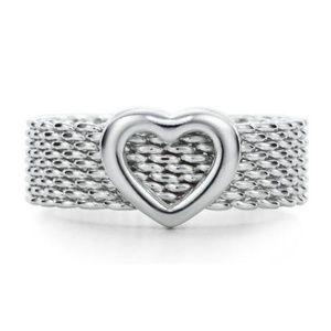 Tiffany & Co Somerset Heart Ring
